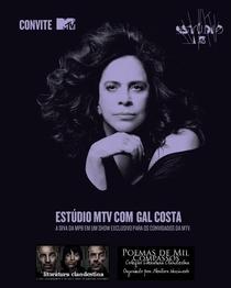 Estúdio MTV -  Gal Costa - Poster / Capa / Cartaz - Oficial 1