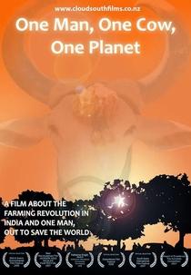 Um Homem, uma Vaca, um Planeta - Poster / Capa / Cartaz - Oficial 1