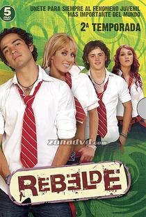 Rebelde (2ª Temporada) - Poster / Capa / Cartaz - Oficial 1