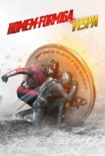 Homem-Formiga e a Vespa - Poster / Capa / Cartaz - Oficial 1