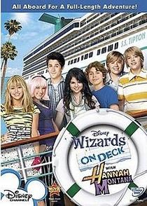 Feiticeiros a bordo com Hannah Montana - Poster / Capa / Cartaz - Oficial 1