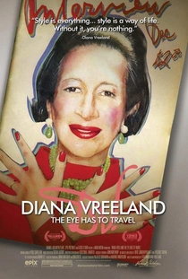 Diana Vreeland: The Eye Has to Travel - Poster / Capa / Cartaz - Oficial 3