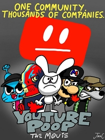YouTube Poop: The Movie - Poster / Capa / Cartaz - Oficial 2