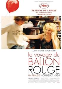 A Viagem do Balão Vermelho - Poster / Capa / Cartaz - Oficial 1