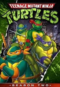 As Tartarugas Ninja (2ª Temporada) - Poster / Capa / Cartaz - Oficial 1