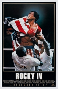 Rocky IV - Poster / Capa / Cartaz - Oficial 1