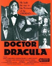 Doctor Dracula - Poster / Capa / Cartaz - Oficial 1