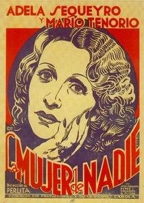 La Mujer de Nadie - Poster / Capa / Cartaz - Oficial 1