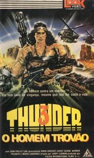 Thunder 3 - O Homem Trovão - Poster / Capa / Cartaz - Oficial 3