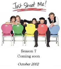 Just Shoot Me! (7ª Temporada) - Poster / Capa / Cartaz - Oficial 1