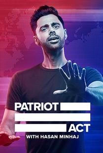 Patriot Act with Hasan Minhaj (4ª Temporada) - Poster / Capa / Cartaz - Oficial 1