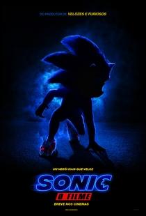 Sonic - O Filme - Poster / Capa / Cartaz - Oficial 1