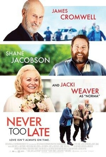 Never Too Late - Poster / Capa / Cartaz - Oficial 1