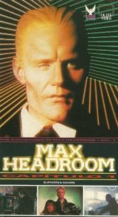 Max Headroom - 20 minutos no futuro - Poster / Capa / Cartaz - Oficial 2