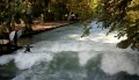 Surf no rio Eisbach - 1