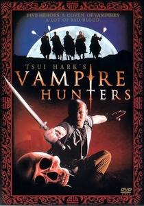 Os Caçadores de Vampiros - Poster / Capa / Cartaz - Oficial 1