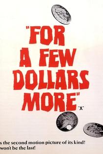 Por uns Dólares a Mais - Poster / Capa / Cartaz - Oficial 11