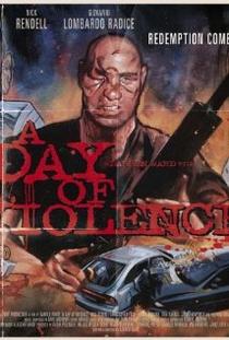 A Day of Violence - Poster / Capa / Cartaz - Oficial 1