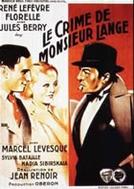 O Crime do Sr. Lange  (Le Crime de Monsieur Lange )