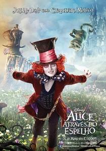 Alice Através do Espelho - Poster / Capa / Cartaz - Oficial 18
