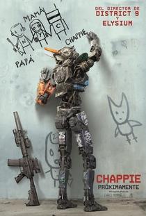 Chappie - Poster / Capa / Cartaz - Oficial 2