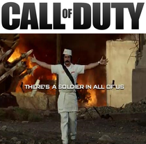 Call of Duty - Black Ops - There's a Soldier in All of Us - Poster / Capa / Cartaz - Oficial 1
