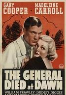 O general morreu ao amanhecer