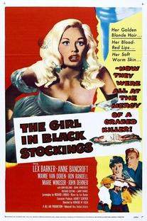 A Garota das Meias Pretas - Poster / Capa / Cartaz - Oficial 2