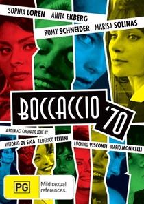 Boccaccio '70 - Poster / Capa / Cartaz - Oficial 1
