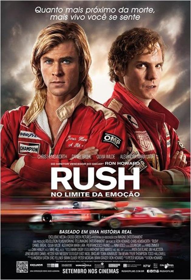 Rush – No Limite da Emoção - Concurso Cultural valendo 5 pares de ingressos