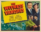 Testemunha Foragida (The Witness Vanishes)