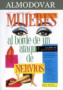 Mulheres à Beira de um Ataque de Nervos - Poster / Capa / Cartaz - Oficial 2