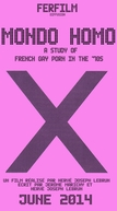 Mondo Homo 2: A Study of French Gay Porn in the 70′s (Mondo Homo 2: A Study of French Gay Porn in the 70′s)