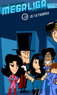 Megaliga MTV de VJs Paladinos (2ª temporada)  - Poster / Capa / Cartaz - Oficial 1