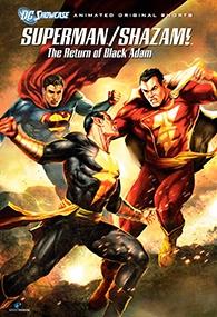 Superman & Shazam!: O Retorno do Adão Negro - Poster / Capa / Cartaz - Oficial 1