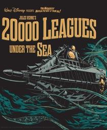 20.000 Léguas Submarinas - Poster / Capa / Cartaz - Oficial 6