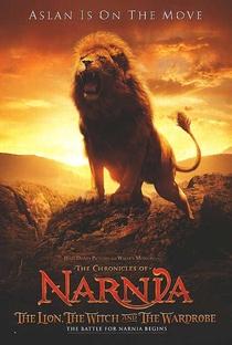 As Crônicas de Nárnia: O Leão, a Feiticeira e o Guarda-Roupa - Poster / Capa / Cartaz - Oficial 2