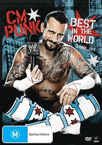 CM Punk: Best In The World - Poster / Capa / Cartaz - Oficial 1