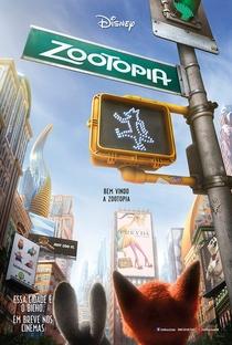 Zootopia: Essa Cidade é o Bicho - Poster / Capa / Cartaz - Oficial 2