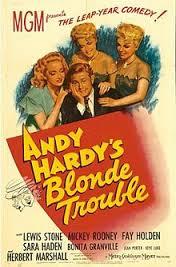 Andy Hardy Prefere as Louras - Poster / Capa / Cartaz - Oficial 1