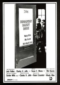Broadway Danny Rose - Poster / Capa / Cartaz - Oficial 3