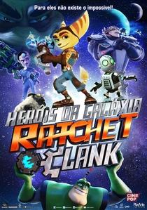 Heróis da Galáxia - Ratchet & Clank - Poster / Capa / Cartaz - Oficial 4