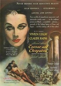 César e Cleópatra - Poster / Capa / Cartaz - Oficial 5