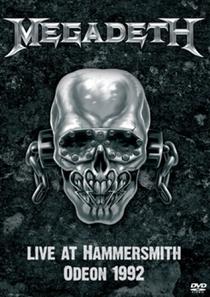 Megadeth - Live At Hammersmith Odeon 1992 - Poster / Capa / Cartaz - Oficial 1