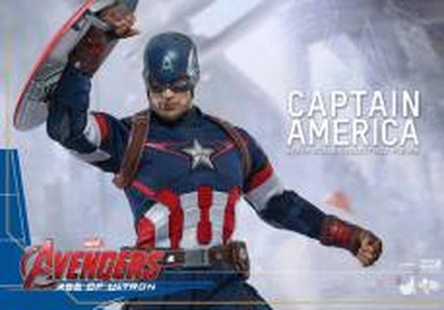 """Vingadores: Hot Toys revela detalhes do action figure do Capitão América de """"Era de Ultron"""""""