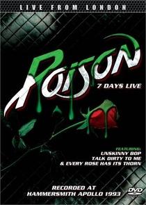Poison Seven Days Live - Poster / Capa / Cartaz - Oficial 1