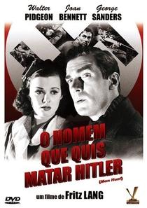 O Homem que Quis Matar Hitler - Poster / Capa / Cartaz - Oficial 1