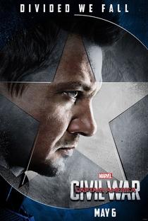 Capitão América: Guerra Civil - Poster / Capa / Cartaz - Oficial 34