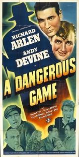 A Dangerous Game - Poster / Capa / Cartaz - Oficial 1