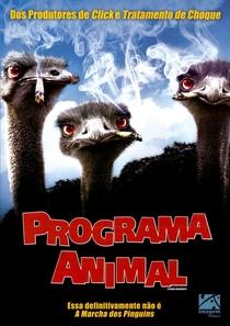 Programa Animal - Poster / Capa / Cartaz - Oficial 2